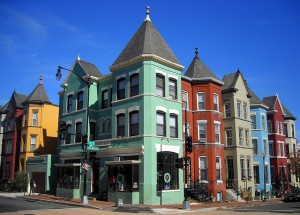 LeDroit Park Historic District in Washington DC