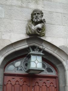 dublin castle doorway